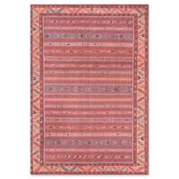 """Momeni Afshar 5' x 7'6"""" Loomed Accent Rug in Multi"""