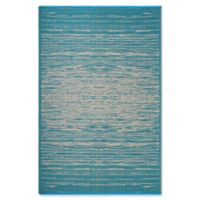 Fab Habitat Brooklyn 4' x 6' Indoor/Outdoor Area Rug in Teal