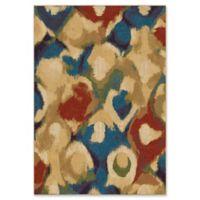 Orian Rugs Mardi Gras Foxglove Woven 7'10 x 10'10 Area Rug in Multi