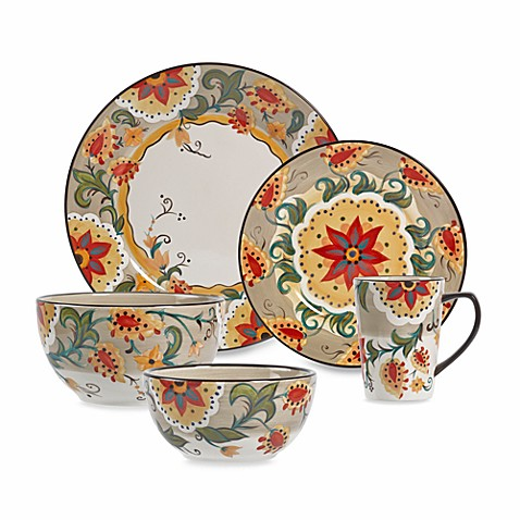 Tabletops Unlimited® Odessa Round Dinnerware Collection - Bed Bath ...