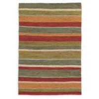 Tommy Bahama Valencia Stripes Multicolor 8' x 10' Area Rug