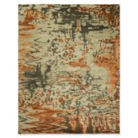 Natori Dynasty 10' x 14' Area Rug in Burnt Orange