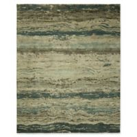 Natori Dynatasy Tranquil 4' x 6' Area Rug in Blue
