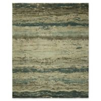 Natori Dynatasy Tranquil 10' x 14' Area Rug in Blue