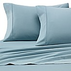 Heartland® HomeGrown™ 400-Thread-Count Solid Sateen King Sheet Set in Seafoam