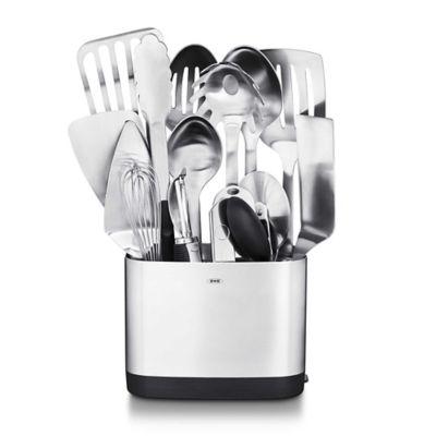 oxo 15 piece stainless steel kitchen utensil set - Oxo Kitchen