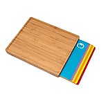Lipper Bamboo Cutting Board with 6 Mats