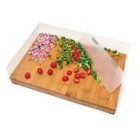Lipper Bamboo Cutting Board with 4 Edge Guards