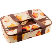 Home Essentials Fall Leaves Insulated Casserole Carrier