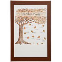 Fall Family Tree Canvas Print
