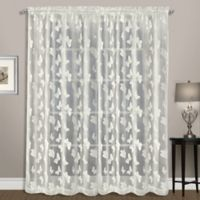 Madame 84-Inch Rod Pocket Window Curtain Panel in Natural