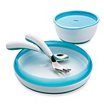 OXO Tot® 4-Piece Feeding Set in Aqua