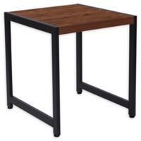 Flash Furniture Grove Hill End Table with Rustic Wood Grain Finish