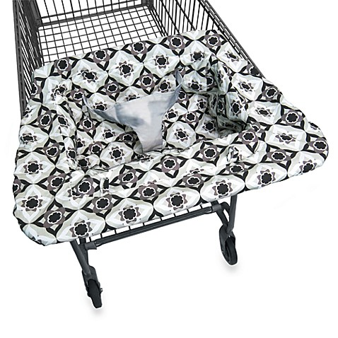 JJ Cole® Shopping Cart Cover in Black