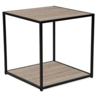 Flash Furniture Midtown End Table with Oak Finish