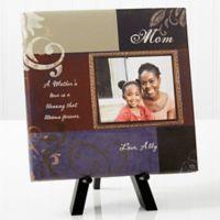 Dear Mom Photo Canvas Print