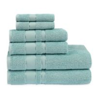 Sadem Prestige 6-Piece Bath Towel Set in Aqua