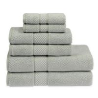 Sadem Contemporary 6-Piece Bath Towel Set in Green