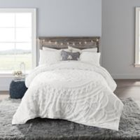 Anthology™ Tufted Medallion Full Comforter Set in White