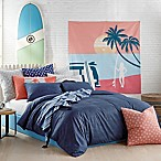 Hang Ten Woodgrain Twin/Twin XL Comforter Set in Navy