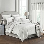 Lumina 14-Piece Queen Comforter Set in Silver