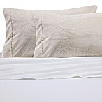 Faux Fur Standard Pillowcase in Coconut Milk
