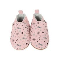 Robeez® Size 18-24M Soft Sole #GirlyGirl Shoe in Soft Pink