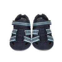 Robeez® Size 4 Beach Break Mini Shoez in Navy