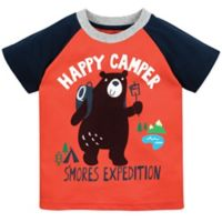 "Gerber® Graduates Size 4T ""Happy Camper"" T-Shirt in Orange"