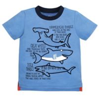 Gerber® Graduates Size 4T Sharks T-Shirt in Blue