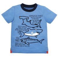 Gerber® Graduates Size 3T Sharks T-Shirt in Blue