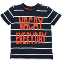"Gerber® Graduates Size 4T ""Vacay Everyday"" T-Shirt in Black/Orange"