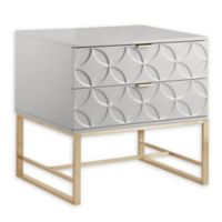 Chic Home Lyon Side Table in Grey