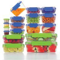 Progressive® SnapLock™ 36-Piece Food Container Set in Blue/Green