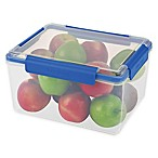 Progressive® SnapLock™ 30-Cup Rectangular Food Container in Blue