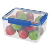 Progressive® SnapLock™ 30-Cup Rectangular Food Container in Blue