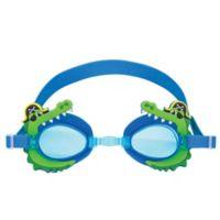 Stephen Joseph® Alligator/Pirate Swim Goggles with Carry Case