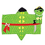 Stephen Joseph® Alligator Pirate Hooded Towel