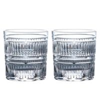 Royal Doulton® R&D Radial Double Old Fashioned Glasses (Set of 2)