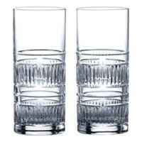 Royal Doulton® R&D Radial Highball Glasses (Set of 2)