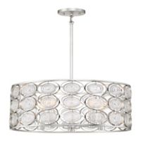Minka Lavery Culture Chic 5-Light Pendant Light in Silver