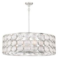 Minka Lavery Culture Chic 8-Light Pendant Light in Silver