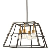 Minka Lavery® Keeley Calle 4-Light Ceiling Mount Pendant Light in Bronze