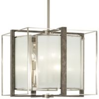 Minka Lavery Tyson Gate 8-Light Pendant Light in Brushed Nickel