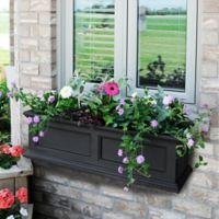 Mayne Fairfield 3-Foot Window Box in Black