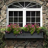 Mayne Fairfield 5-Foot Window Box in Black