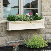 Mayne Fairfield 4-Foot Window Box in Clay