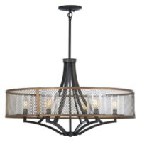 Minka Lavery Marsden Commons 6-Light Chandelier in Iron