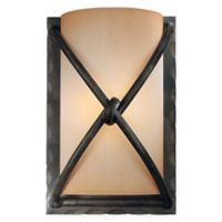 Classic Light 1-Light Wall Sconce in Dark Bronze