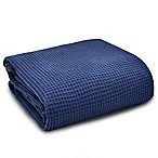 UGG® Solana Washed Cotton King Throw Blanket in Navy